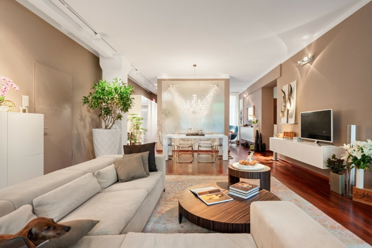 Loft design l int rieur l gant berlin vivons maison for Deco piece de vie