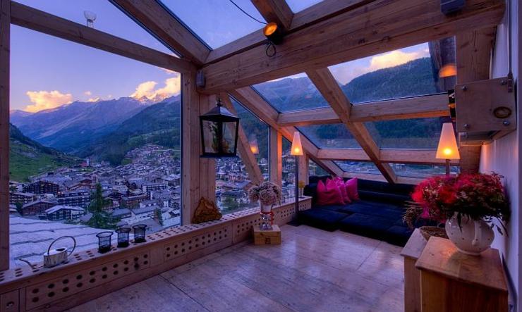 Ce chalet julien heinz zermatt une location de vacances unique vivons m - Hotel de montagne suisse ...
