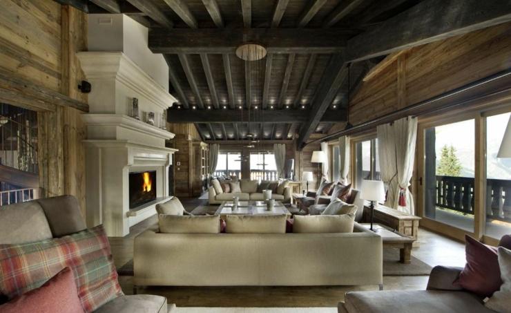 Chalet ski d un luxe extr me courchevel vivons maison - Vacances a la montagne villa rustique aspen ...