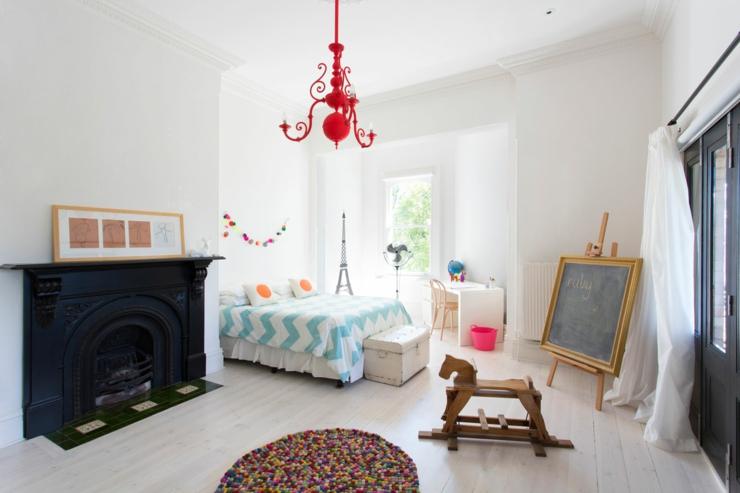Maison de ville au design int rieur luxe melbourne australie vivons maison - Chambre d enfant de luxe ...