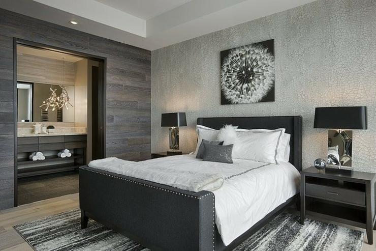 Chalet de ski luxueux big sky resort montana vivons maison - Chambre adulte design moderne ...