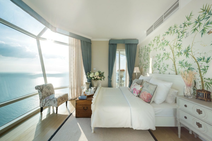 Appartement de vacances luxueux pattaya tha lande for Chambre avec vue sur la guerre