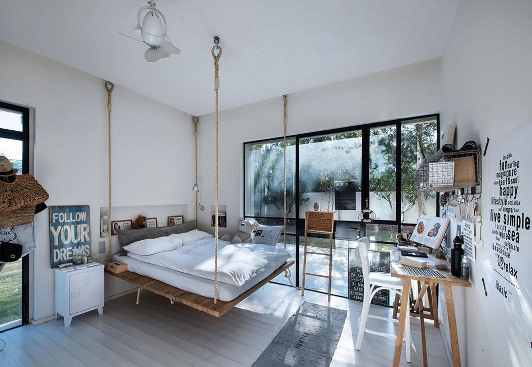 Awesome Suspension Design Chambre Ado Photos - Amazing House Design ...