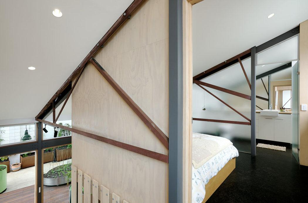 r novation loft projet cr atif et original au centre de melbourne vivons maison. Black Bedroom Furniture Sets. Home Design Ideas