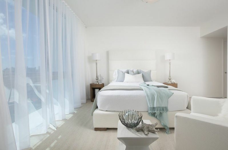 chambre design luxe appartement mer
