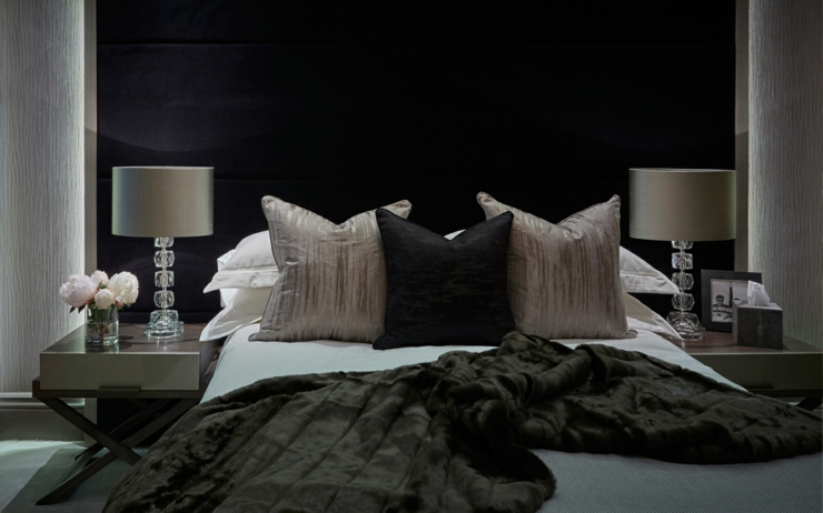 maison de ville l int rieur soyeux et l gant londres vivons maison. Black Bedroom Furniture Sets. Home Design Ideas