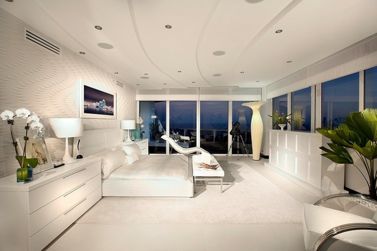 l gant appartement avec vue sur la mer miami vivons maison. Black Bedroom Furniture Sets. Home Design Ideas
