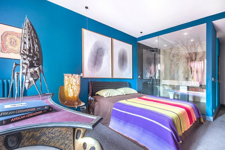 Appartement de luxe au design clectique paris vivons maison - Chambre luxe paris ...