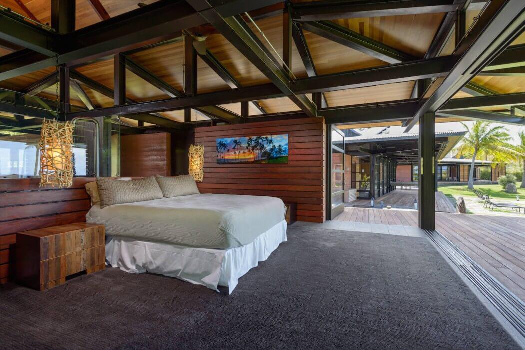 une maison plain pied au c ur d un paysage paradisiaque hawaii vivons maison. Black Bedroom Furniture Sets. Home Design Ideas