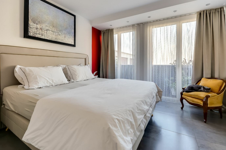 Appartement de luxe avec une vue imprenable sur paris vivons maison - Appartement avec une chambre ...