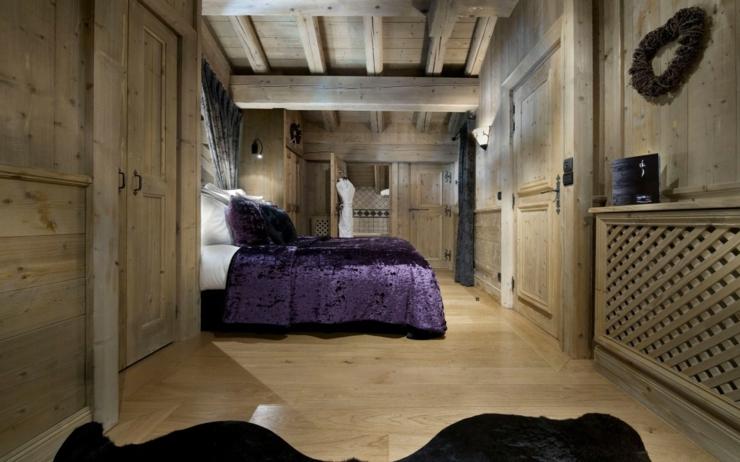 Beau chalet de luxe courchevel vivons maison - Chambre chalet ...