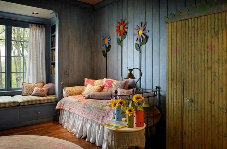Chambre moderne rustique design de maison for Chambre rustique