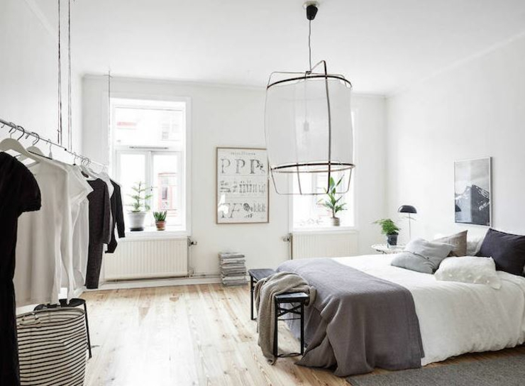 appartement moderne au design scandinave vivons maison. Black Bedroom Furniture Sets. Home Design Ideas