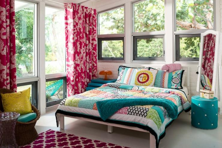 Maison l int rieur clectique et joyeux en floride vivons maison - Interieur eclectique grove design ...