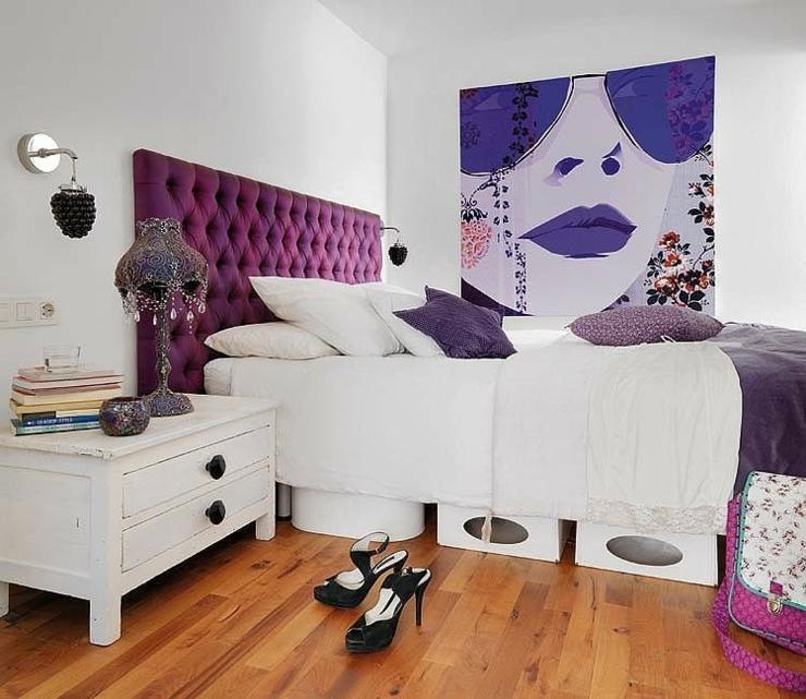 d coration design pour un appartement glam vivons maison. Black Bedroom Furniture Sets. Home Design Ideas