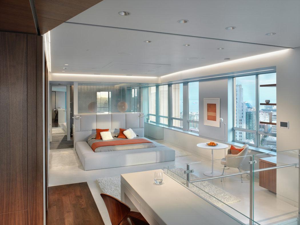 Ambiance accueillante l gante pour ce joli appartement duplex situ san francisco vivons - Appartement duplex winder gibson architecte ...