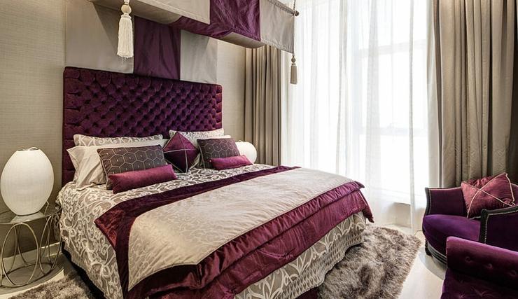 Luxueux appartement avec vue duba vivons maison for Chambre style orientale