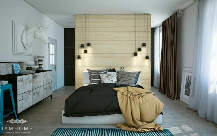 Bel appartement à l\'intérieur design unique en Russie | Vivons maison