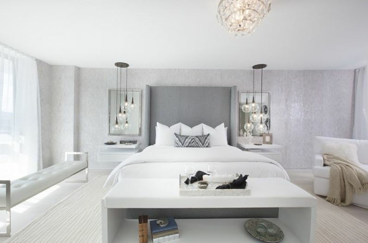 Appartement de vacances exotique miami beach vivons maison for Chambre parentale design