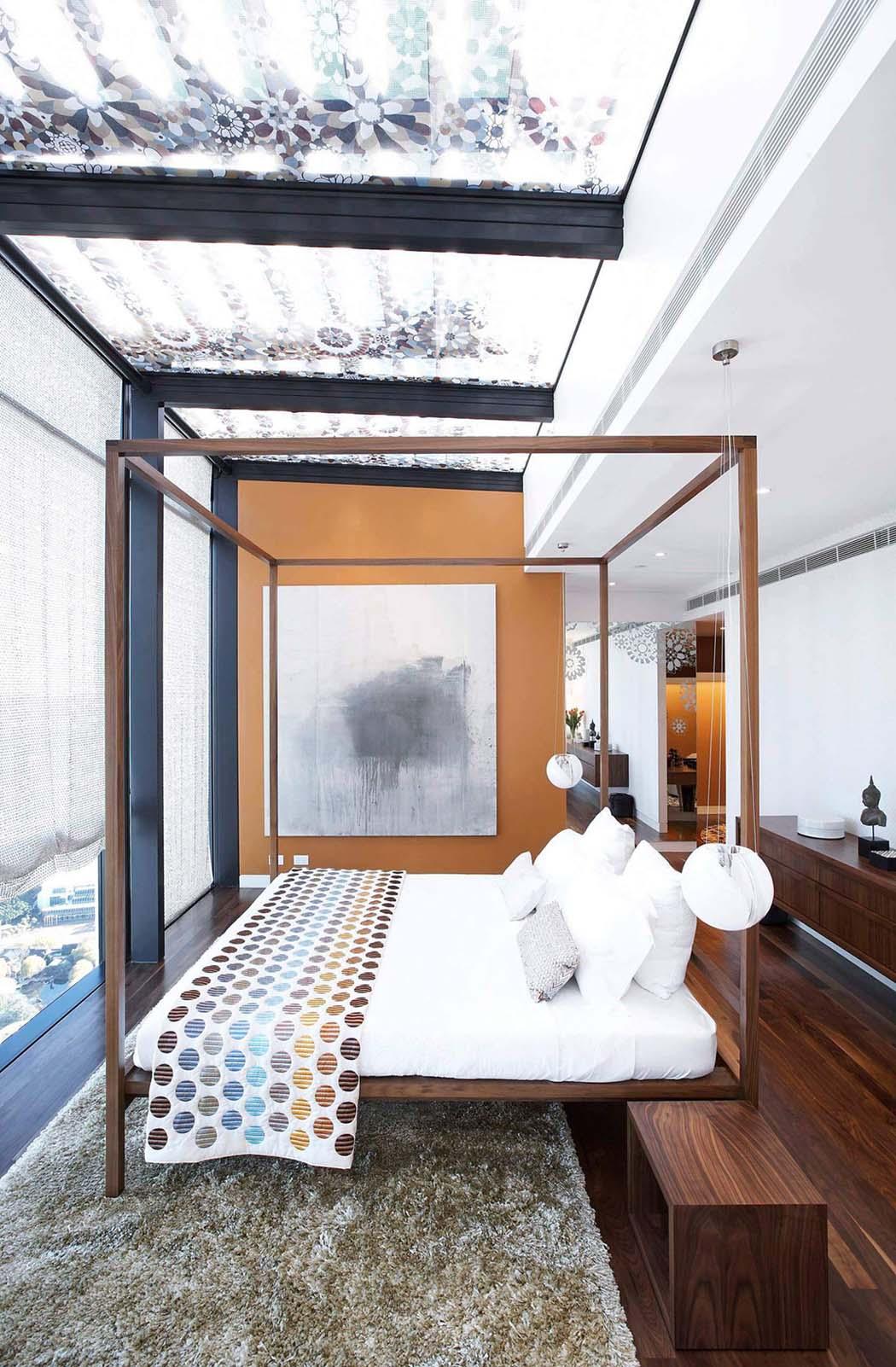 Penthouse luxe sydney avec design int rieur minimaliste - Decoration interieur appartement minimliste kiev ...