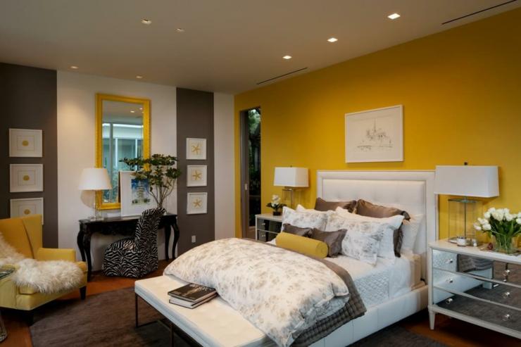 Impressionnant Chambre Scandinave Jaune ~ Idées de Design Maison ...