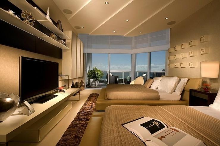 l gant appartement avec vue sur la mer miami vivons maison. Black Bedroom Furniture Sets. Home Design Ideas