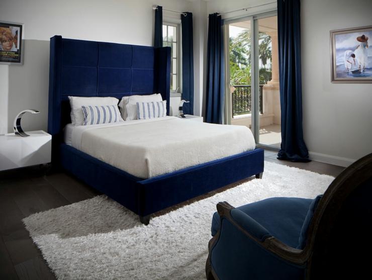 Appartement de luxe pour des vacances uniques miami - Chambre adulte noir et blanc ...