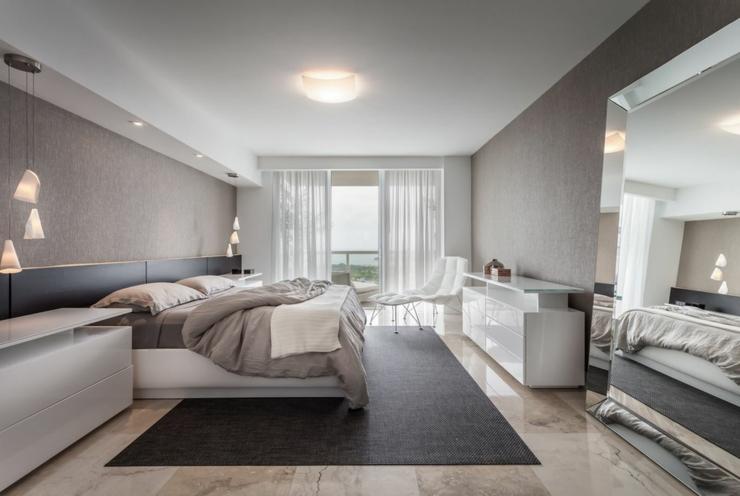 Bel appartement de vacances avec vue miami beach vivons maison - Chambre parentale moderne ...