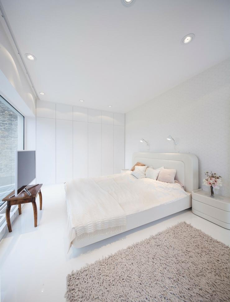 Loft au design contemporain un brin futuriste vivons maison for Decoration chambre a coucher contemporain