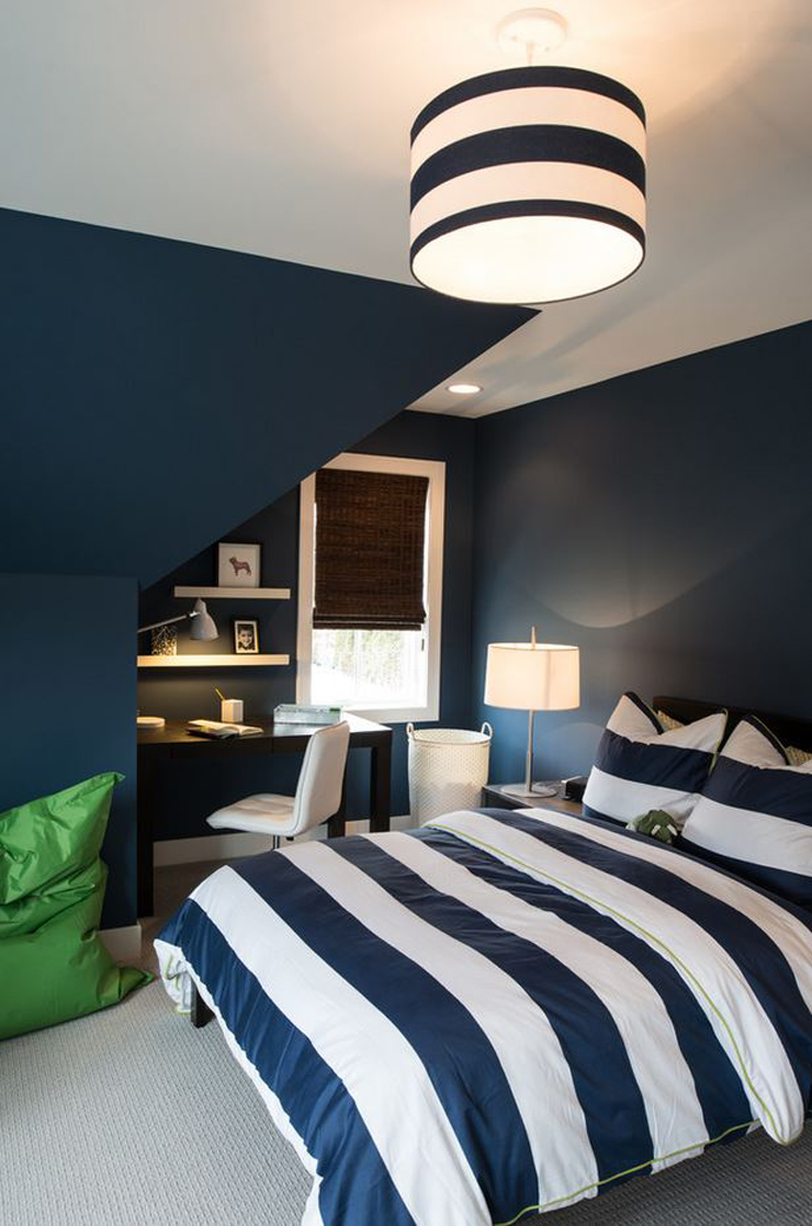 Belle maison au design int rieur clectique minneapolis for Interieur chambre
