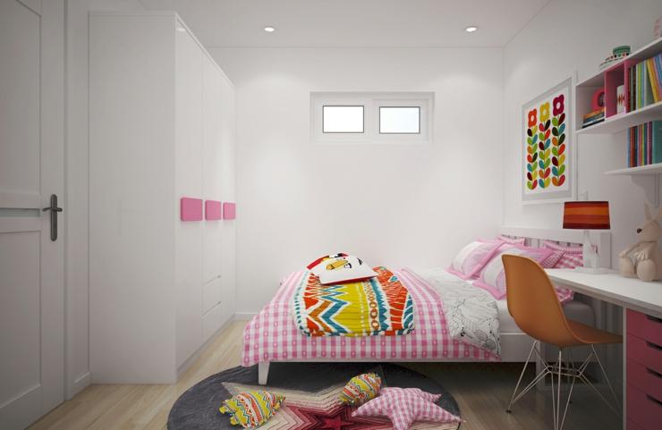 Idee De Chambre Pour Bebe Fille : Appartement citadin meublé selon les principes du design scandinave