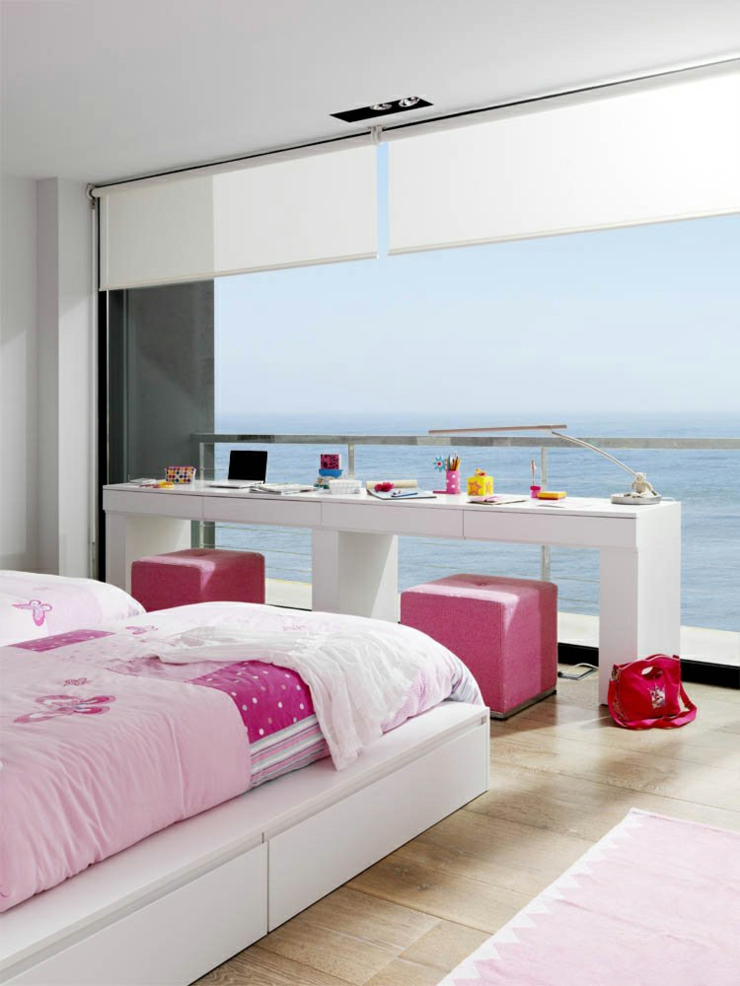 D co chambre maison de vacances for Decoration chambre ocean