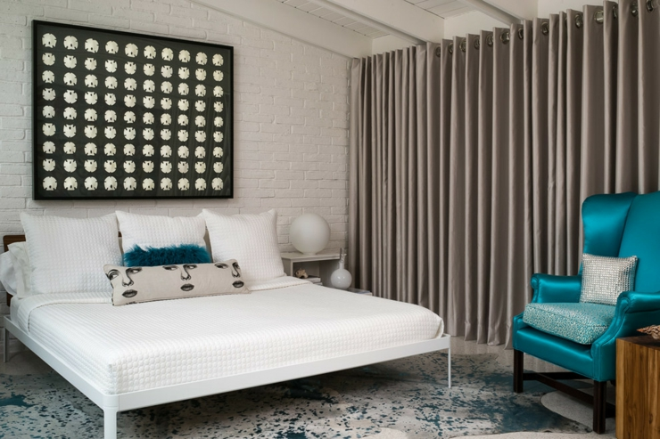 Beautiful Chambre Turquoise Et Beige Images  Design Trends