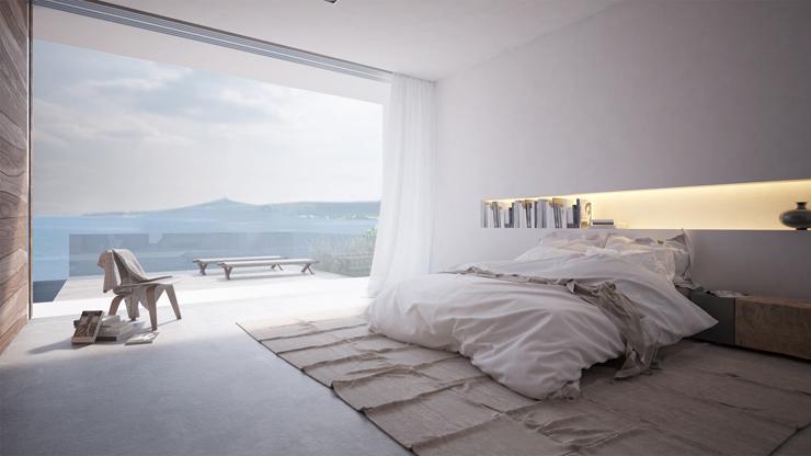 Magnifique maison d architecte mayotte avec une vue for Belle chambre moderne