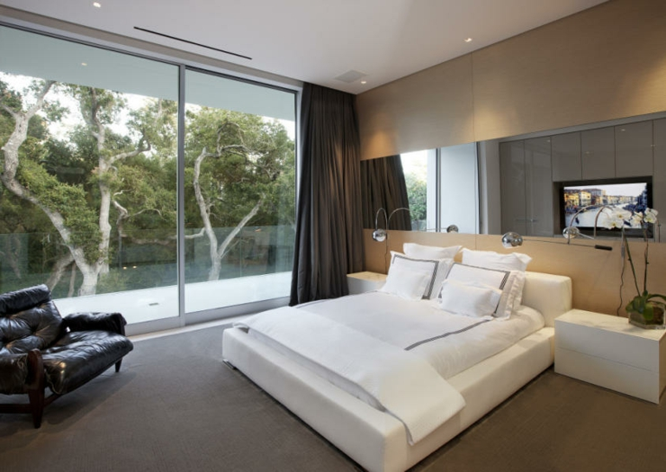 R sidence de luxe montecito santa barbara vivons maison - Casas modernas interior ...
