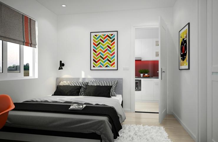 Appartement citadin meubl selon les principes du design for Chambre simple design