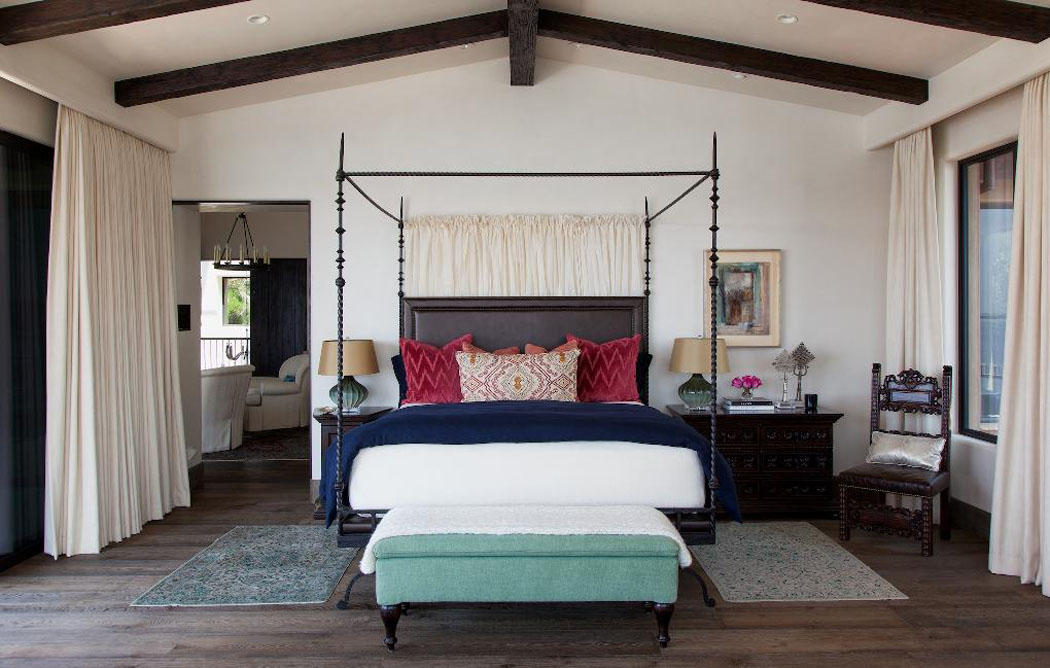 Un ranch am ricain modernis californien l int rieur - Decoration chambre principale ...
