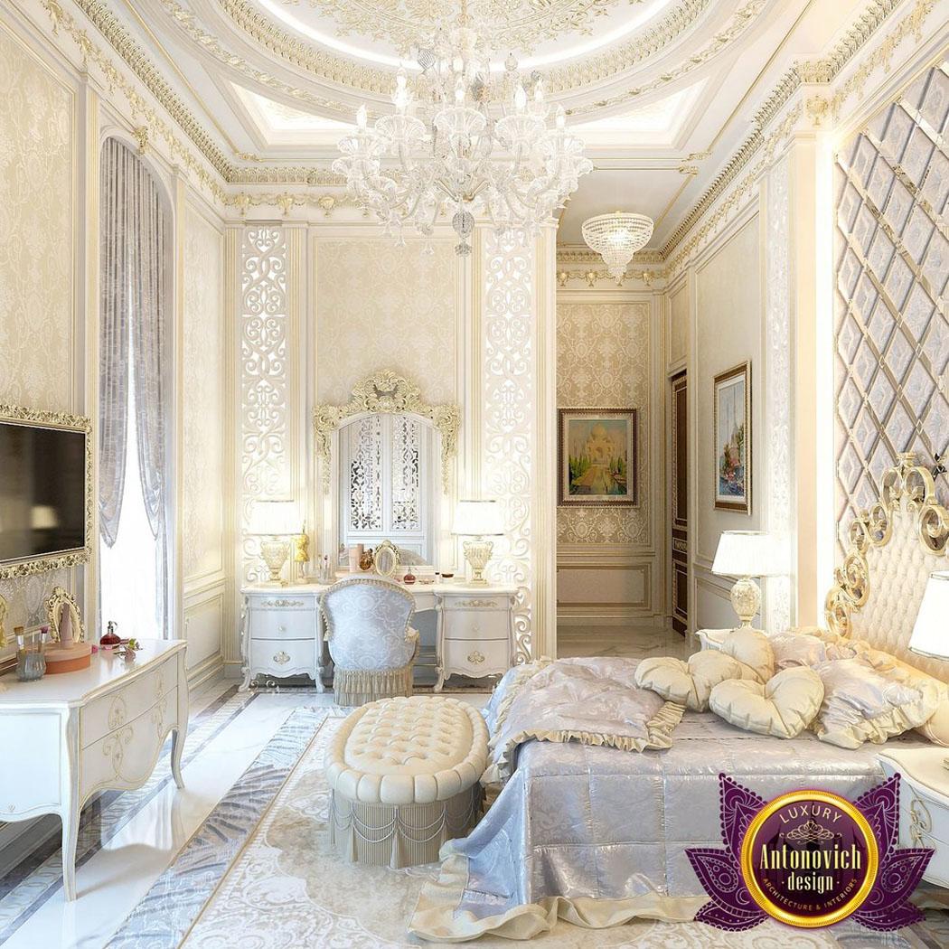 cette chambre coucher copieusement dcore est un vritable exemple de dcor oriental