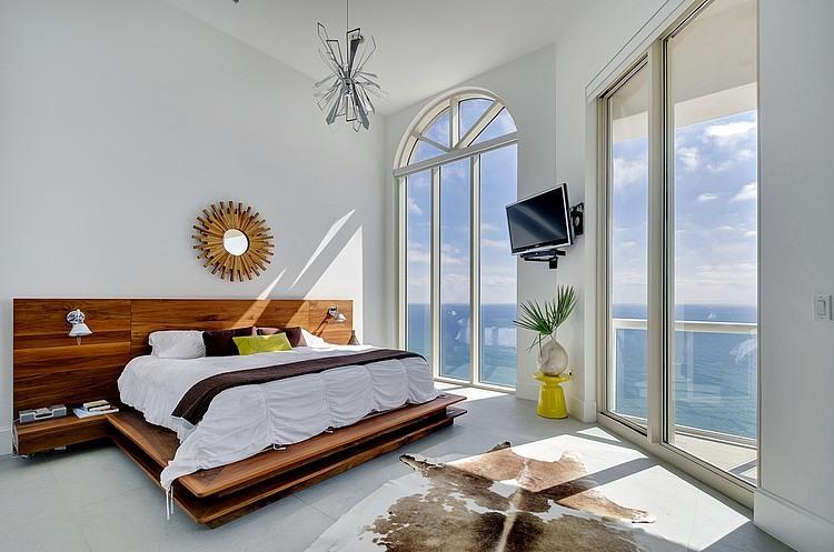Chambre vue mer appartement vacances
