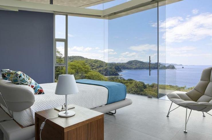 Villa contemporaine costa rica avec belle vue sur la mer for Salle bain bord de mer