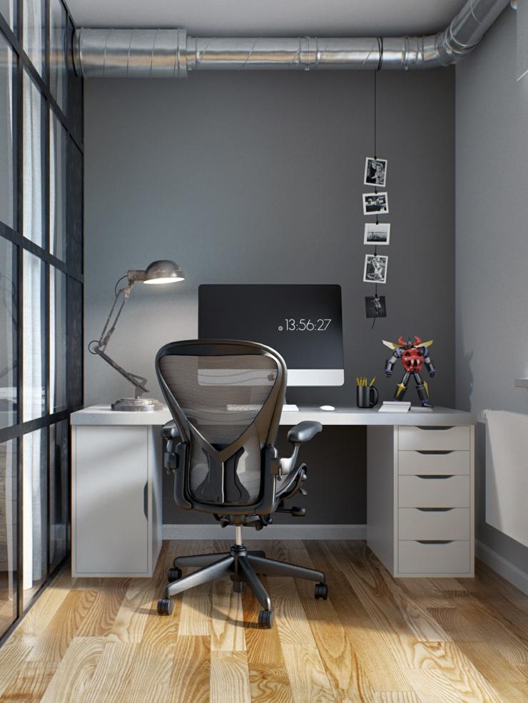 int rieur design moderne pour un petit appartement minsk bi lorussie vivons maison. Black Bedroom Furniture Sets. Home Design Ideas