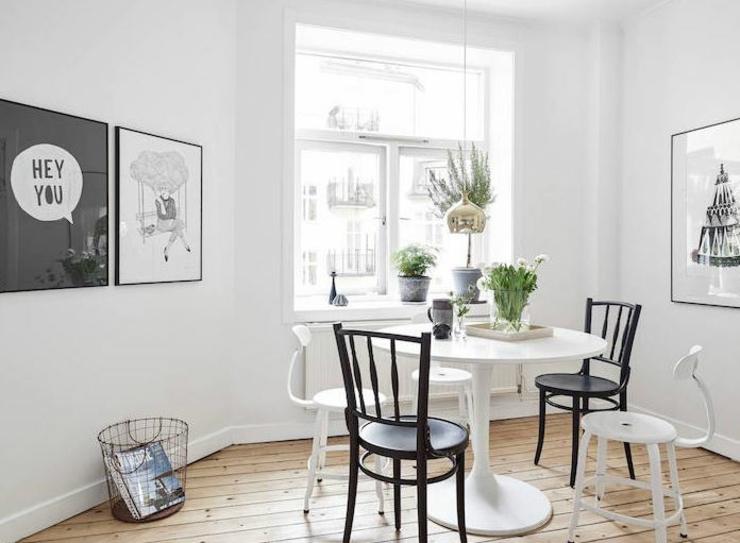 appartement moderne au design scandinave vivons maison. Black Bedroom Furniture Sets. Home Design Ideas
