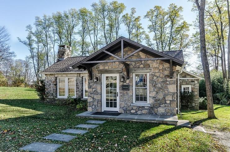 R sidence secondaire du type cottage anglais vivons maison for Photos cottages anglais
