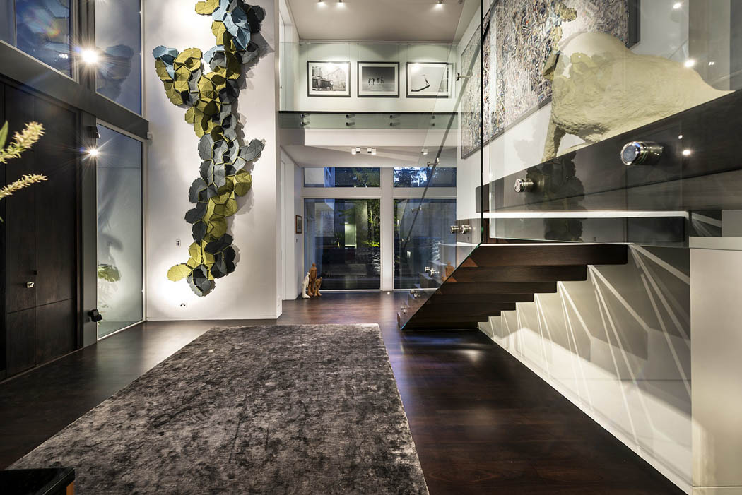 R sidence principale de ville l architecture contemporaine et originale perth australie - Decoration interieur villa luxe ...