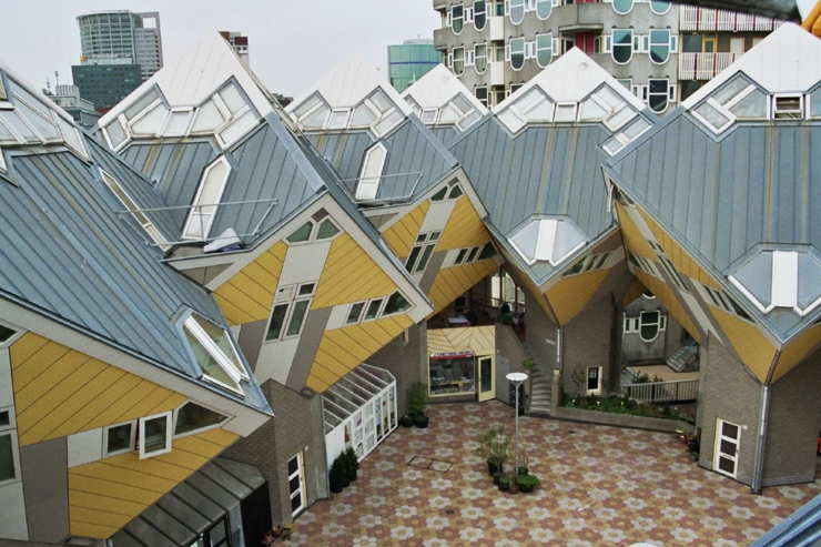Le complexe original cube houses rotterdam vivons maison for Archi interieur rotterdam