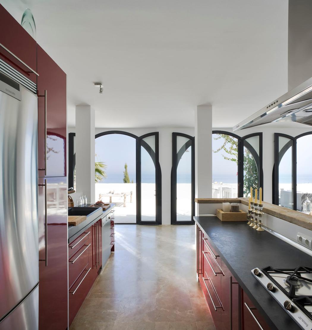 Splendide villa de luxe sur la c te sud espagnole vivons Une cuisine de luxe