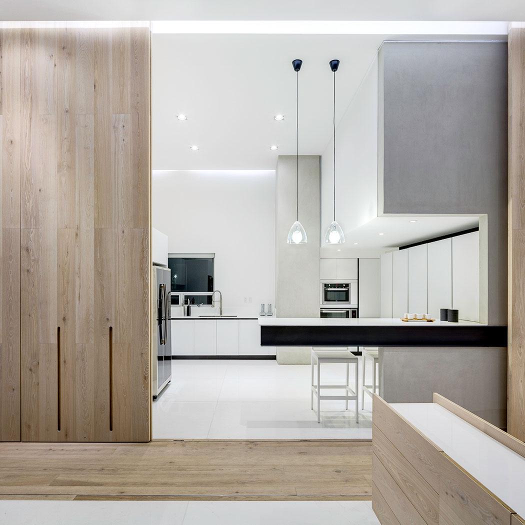 Cuisine moderne ouverte sur sejour for Cuisine moderne appartement