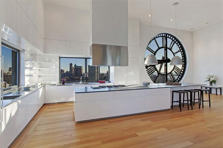 Top Pendule Cuisine Moderne. Horloge Murale Moderne Multicolore U  PK97