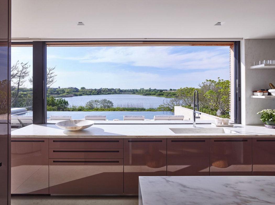 Une belle maison de vacances pr s de new york l - Maison secondaire cotiere avec vue katch ...