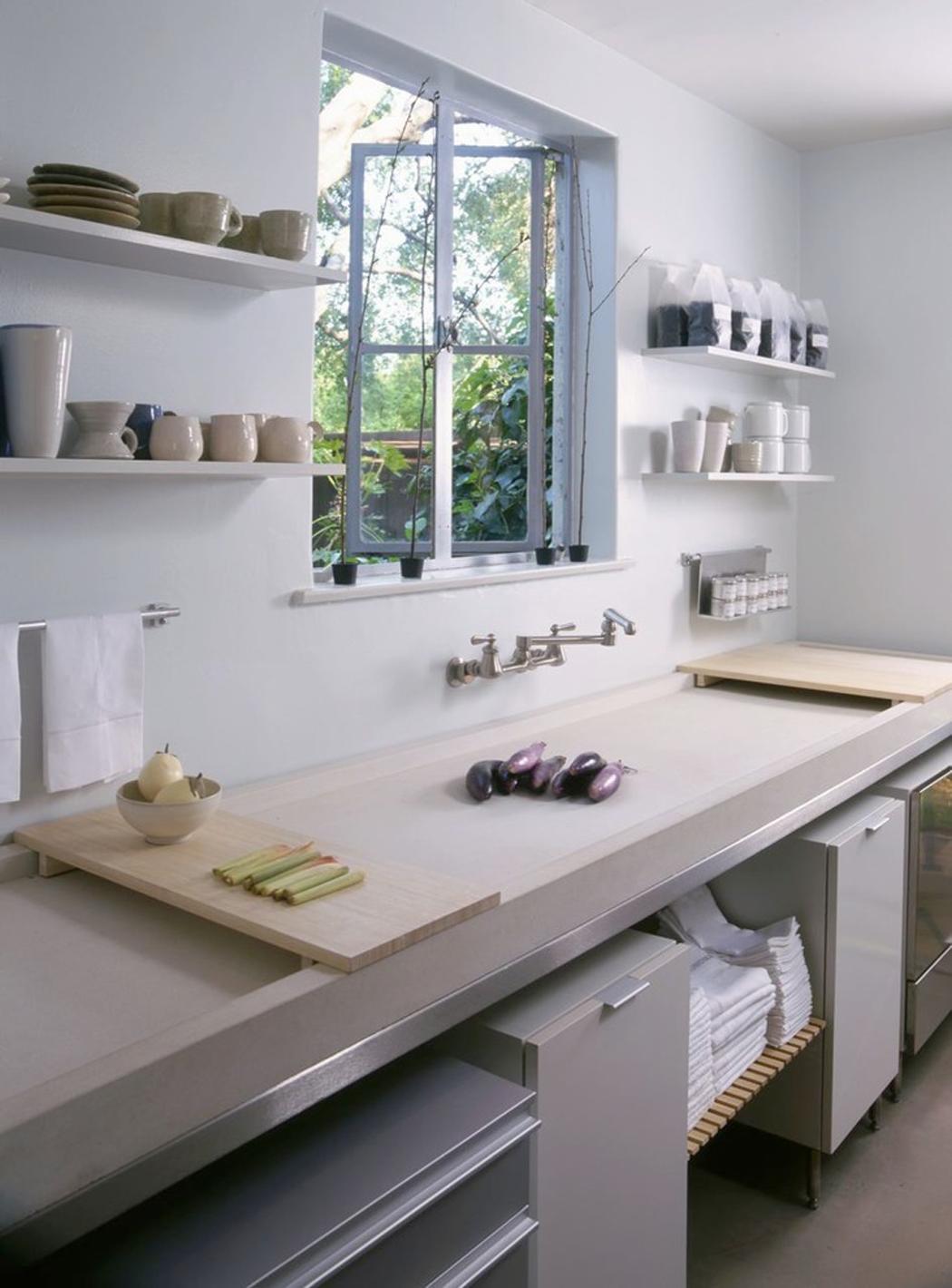 Cabane design zen et minimaliste los angeles vivons maison for Cuisine epuree design